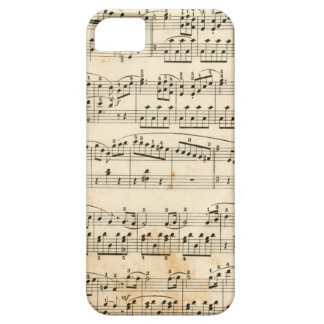 Music sheet iPhone 5 covers