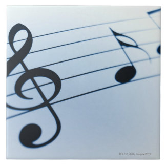 Music Sheet Tile