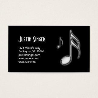 Music Sixteenth & Eight Note Business Card