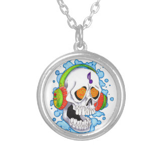 Music Skull Custom Necklace