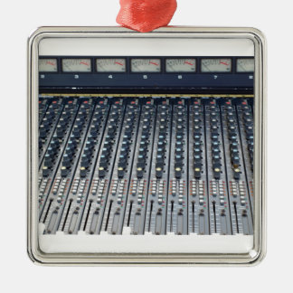 Music soundboard sound board mixer christmas ornament