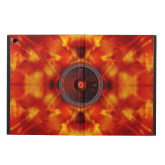 Music speaker on a colourful background cover for iPad air