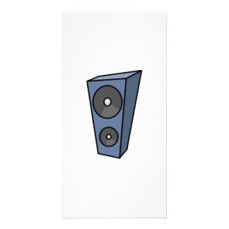 Music Speaker Picture Card