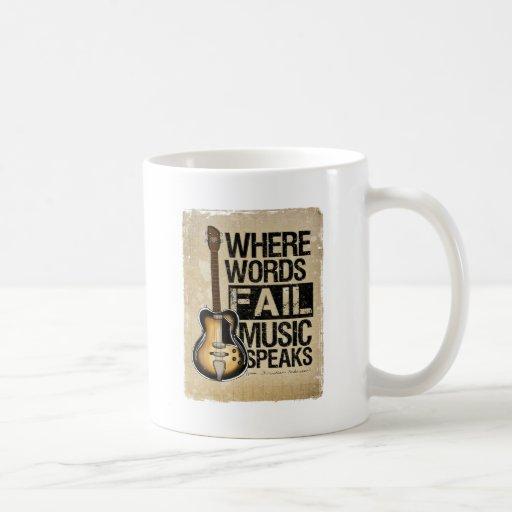 music speaks mug
