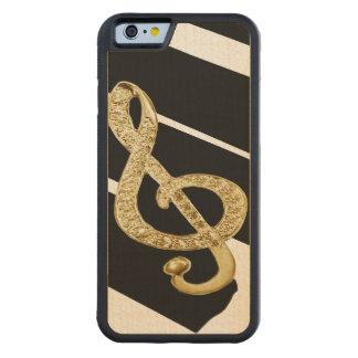 Music Staff Symbol Maple iPhone 6 Bumper