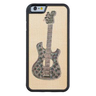 Music Staff Symbol Maple iPhone 6 Bumper Case