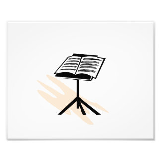 Music stand graphic design image art photo