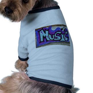 Music Street Art Graffiti Ringer Dog Shirt