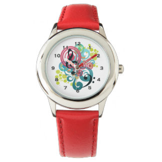 Music Swirl Kids Watch