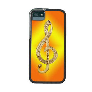 Music Symbol G-clef Case For iPhone 5
