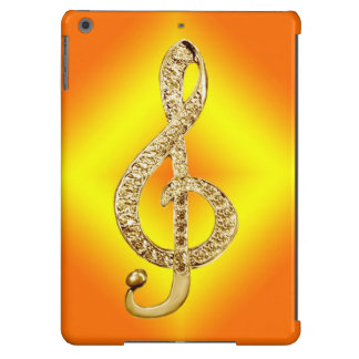 Music Symbol G-clef Cover For iPad Air
