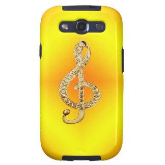 Music Symbol G-clef Galaxy SIII Case