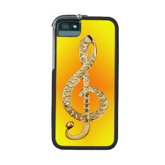 Music Symbol G-clef iPhone 5/5S Covers