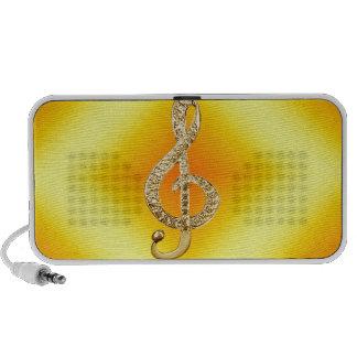 Music Symbol G-clef iPhone Speaker