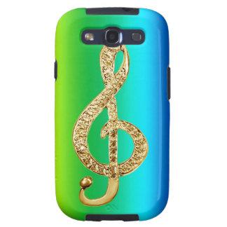 Music Symbol Staff G-Clef Samsung Galaxy SIII Case