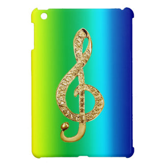Music Symbol Staff G-Clef Case For The iPad Mini