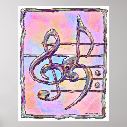 Music Symbols,3 print