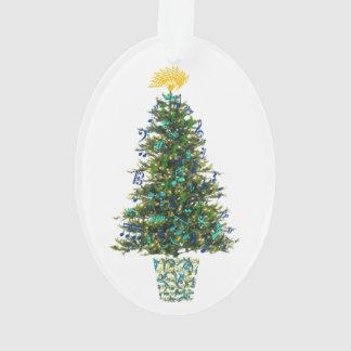 Music Symbols Christmas Tree Customizable Year Ornament