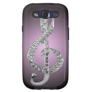 Music Symbols G-clef Galaxy S3 Cases