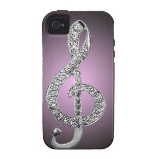 Music Symbols G-clef Case-Mate iPhone 4 Cover