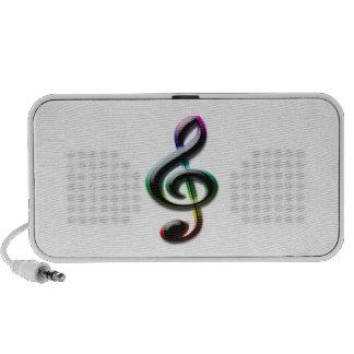Music Symbols iPhone Speakers