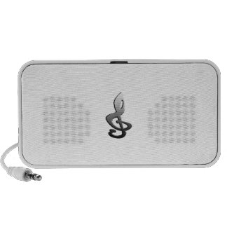 Music Symbols Staff G-clef Travelling Speaker