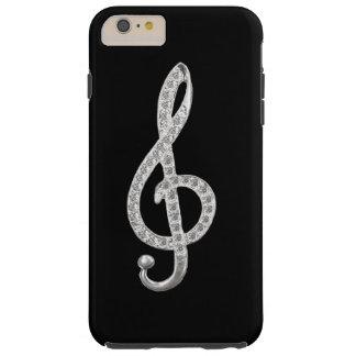 Music Symbols Tough iPhone 6 Plus Case
