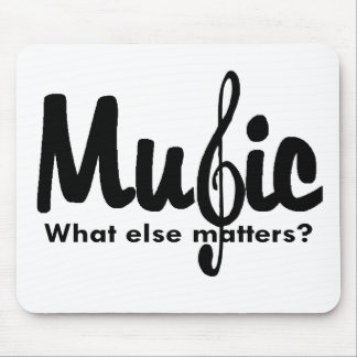 Music T-shirts and Gifts. Mouse Pads