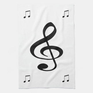 Music Tea Towel