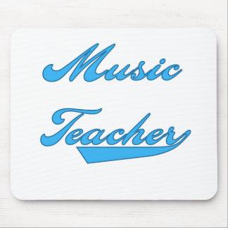 Music Teacher Blue Mouse Mat