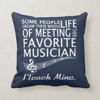 Music Teacher Cushion
