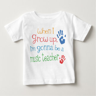 Music Teacher (Future) Infant Baby T-Shirt