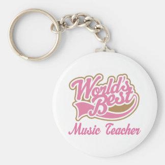 Music Teacher Gift Key Chain