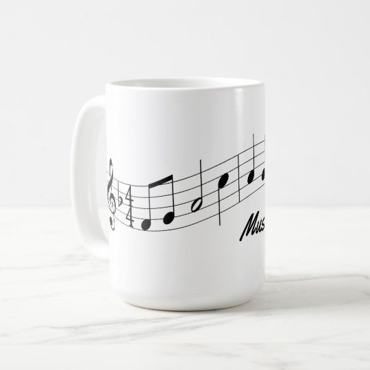 Music Teacher Mug Customisable