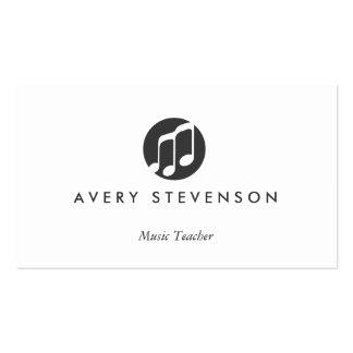 Music Teacher, Music Notes, Musician Pack Of Standard Business Cards