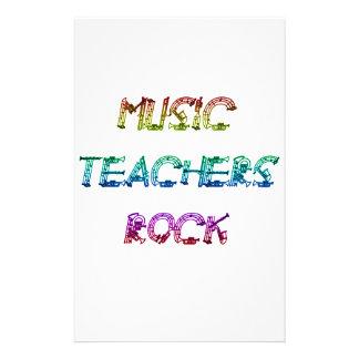 MUSIC TEACHER ROCK 2 STATIONERY
