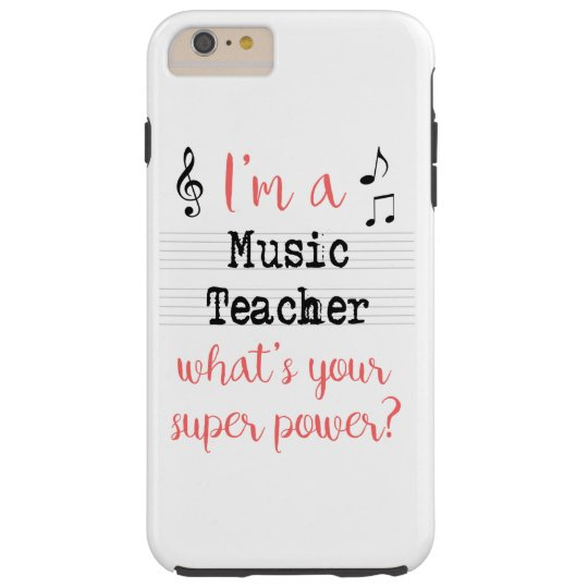 Music Teacher Super Power Phone Case