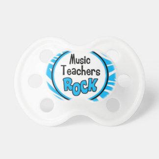music teachers rock. baby pacifier