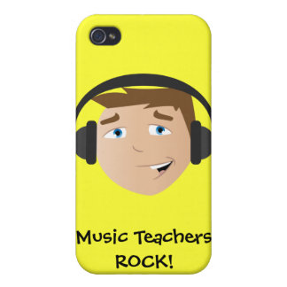 Music Teachers ROCK! Case For The iPhone 4