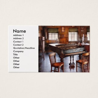 Music - The grand piano Business Card