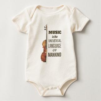 Music The Universal Language   Bodysuit