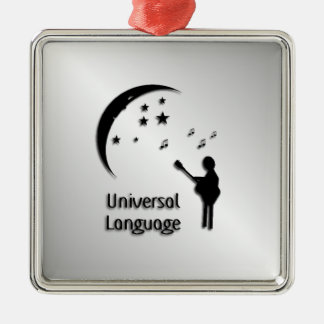Music the Universal Language Christmas Ornament