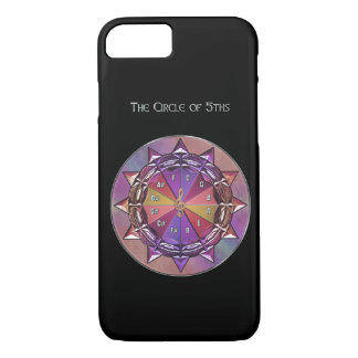 Music Theory Circle of Fifths Mandala iPhone 8/7 Case