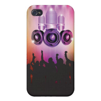 Music Time Iphone Cover Cases For iPhone 4