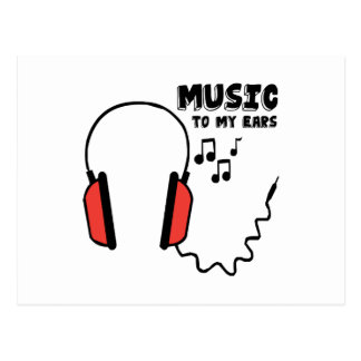 Music To My Ears Postcards