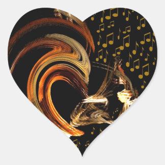 Music To My Soul_ Heart Sticker
