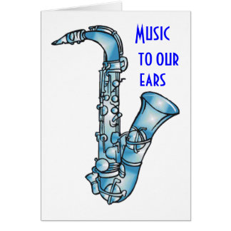 MUSIC TO OUR EARS-GROUP BIRTHDAY GREETING CARD