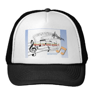 Music to the ears ! trucker hats