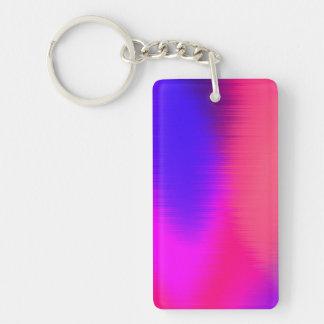 music too loud Single-Sided rectangular acrylic key ring