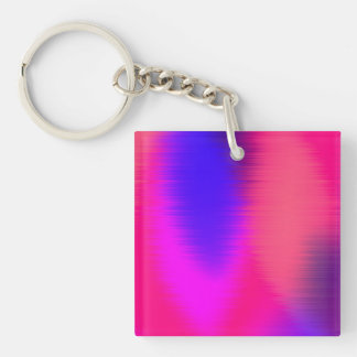 music too loud Double-Sided square acrylic keychain